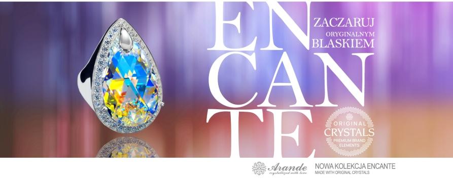Biżuteria - nowa kolekcja Encante - Made with Swarovski Crystals